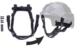 Helmet Strap Kit